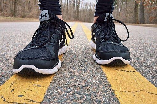 الجري السريع الحذاء المناسب
