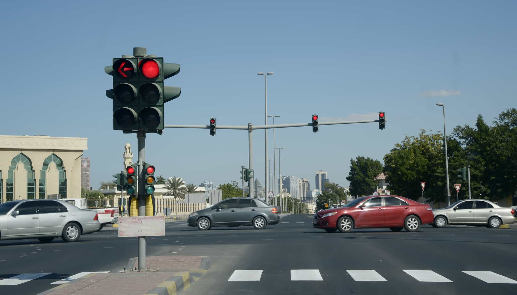 عقوبة قطع الإشارة في السعودية 2018