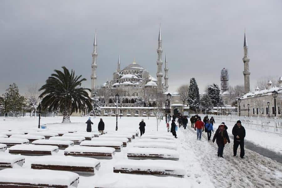 السياحة في تركيا شتاءاً